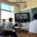 【開催報告】福岡県中間市立中間南中学校にてオンラインで進路の授業を行いました